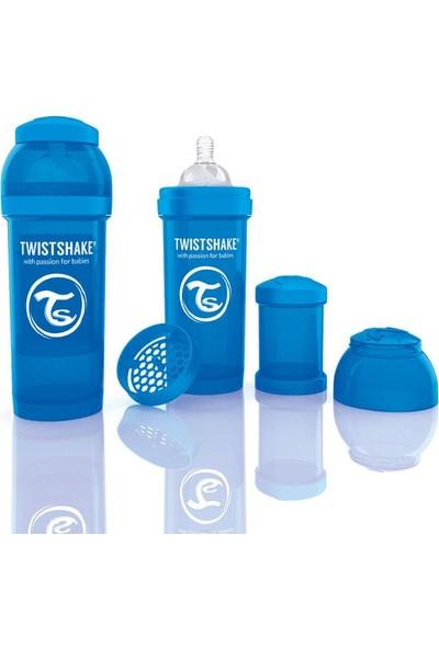 Twistshake Anti-Colic Biberon 260 Ml Mavi