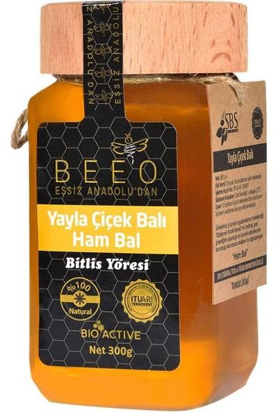 Bee'O 300 Gr. Yayla Çiçek Balı Bitlis Yöresi (Ham Bal)