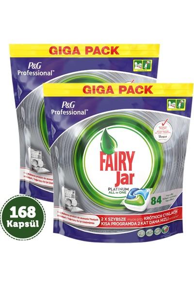 Fairy Jar Platinum Kapsül 84'lü (P&G Professional) x 2 Adet