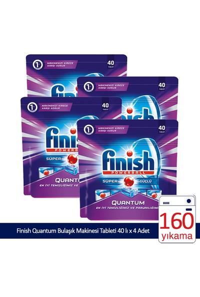 Finish Quantum 160 Tablet Bulaşık Makinası Deterjanı (40x4)