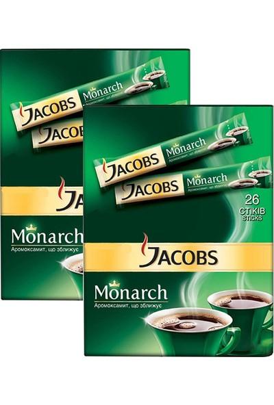 Jacobs Monarch Stick 2 gr 26'lı x 2 Adet