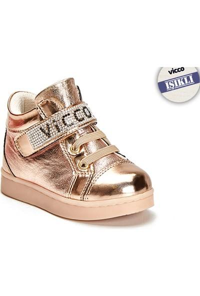 Vicco Işıklı Ayakkabı 220.T.507 Altın