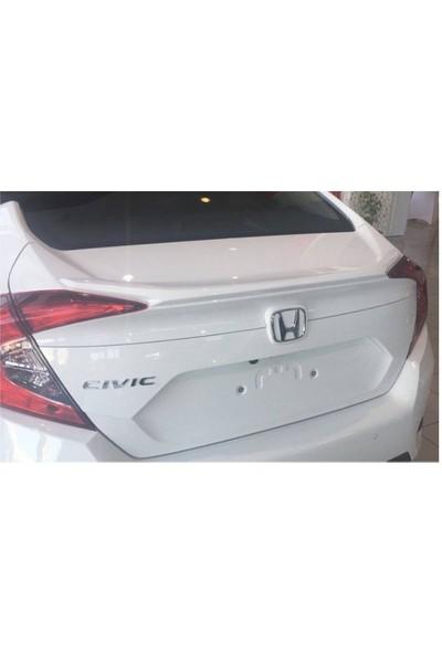 Honda Civic 2016-2017 FC5 Işıksız Boyalı Spoiler