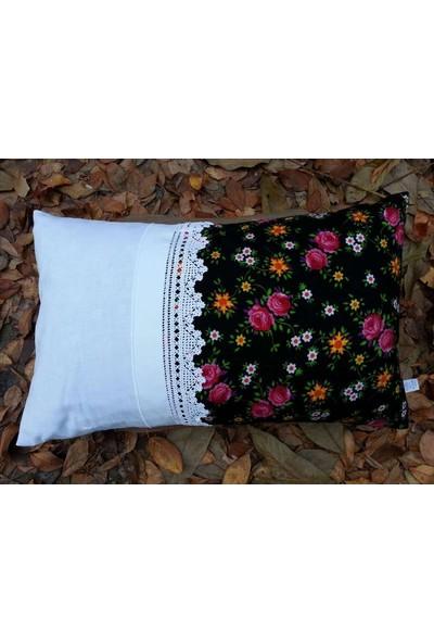 Begüldan Bahar- Pembe Çiçekli Yastık