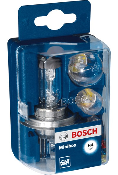 Bosch H4 Minibox Yedek Ampul Kiti