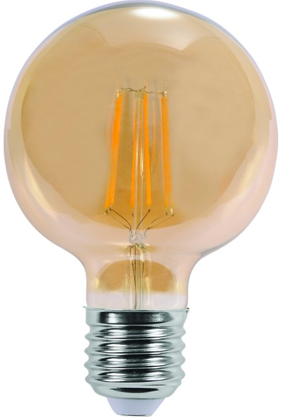 Pelsan Maxin 6W Filament Led Lamba (Ø95) E27 3000K