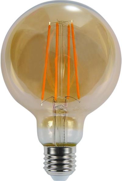 Pelsan Maxin 6W Filament Led Lamba (Ø125) E27 3000K