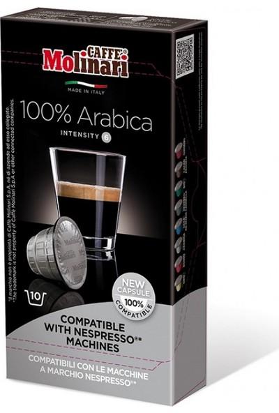 Caffè Molinari Nespresso® Uyumlu Kapsül Kahve Arabica - 10 Kapsül
