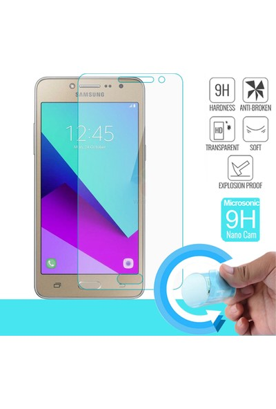 Microsonic Samsung Galaxy J2 Prime Nano Cam Ekran koruyucu film
