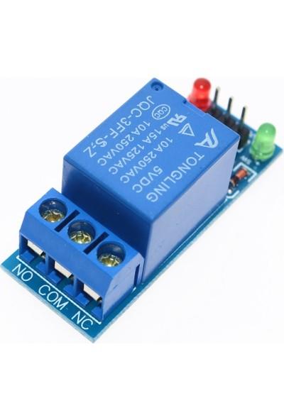 Tek Kanallı 5V Röle Modülü Tekli Röle Kartı 1 Kanal Arduino Relay