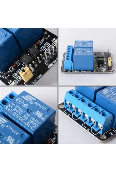 2 Kanallı 5V Röle Kartı 2'li Röle Modülü Arduino Raspberry PIC