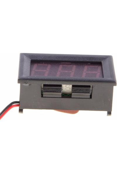 Dijital Voltmetre AC 30-500V Alternatif Gerilim Voltaj Ölçer