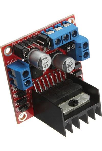 Arduino L298N Motor Sürücü Shield - DC Motor Sürücü Raspberry