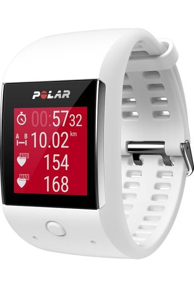 Polar M600 Gps'li Nabız Kontrol Saati - Beyaz ( Türkçe Dil Desteği )