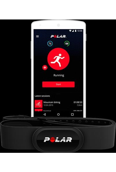 Polar H10 HR Kalp Atış Hızı Sensörü - Siyah M-XXL ( Türkçe Uygulama Desteği )