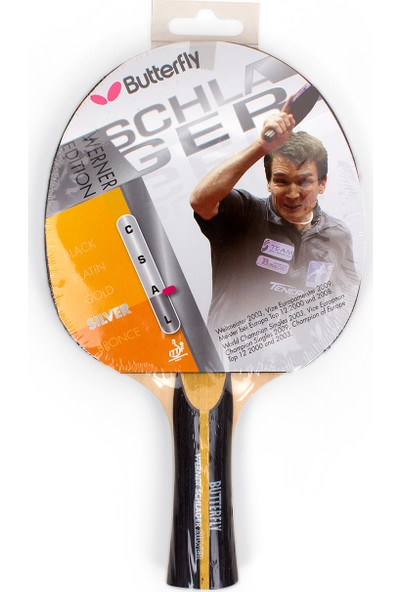 Butterfly Schlager Sılver Masa Tenisi Raketi 85070