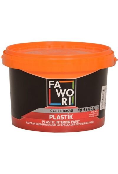 Fawori Plastik İç Cephe Duvar Boyası 3.5Kg Fildişi