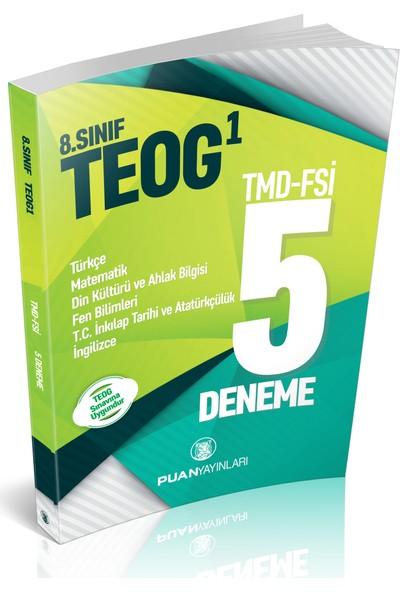 Puan 8. Sınıf TEOG-1 5 Deneme