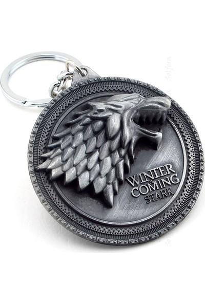 Solfera Game Of Thrones Stark Winter İs Coming Anahtarlık Kc627