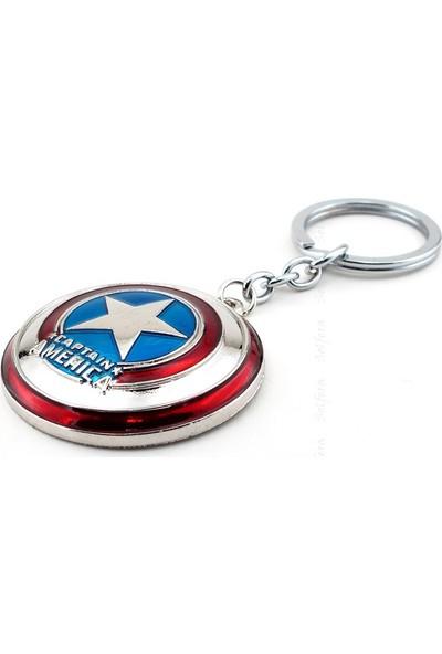 Solfera Marvel Avengers Captain America Kalkan Anahtarlık Kc629