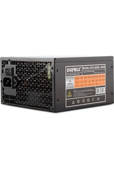 Everest EPS-4900B Real-300W Peak-350W 3*Sata Power Supply