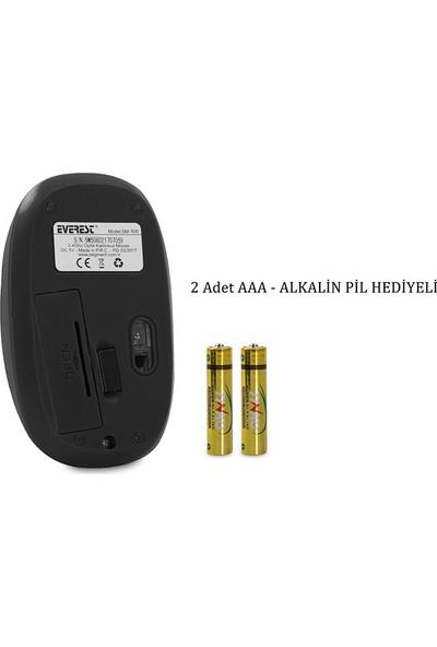 Everest Sm-508 Usb Rubber Black 2.4Ghz Kablosuz Mouse