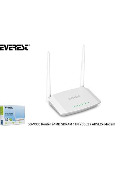 Everest Sg-V300 Router 64Mb Sdram 11N Vdsl2/Adsl2+ Modem