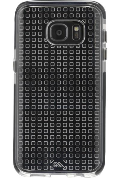 Case Mate Tough Aır Samsung Galaxy S7 Arka Kapak Şeffaf Siyah Çerçeve