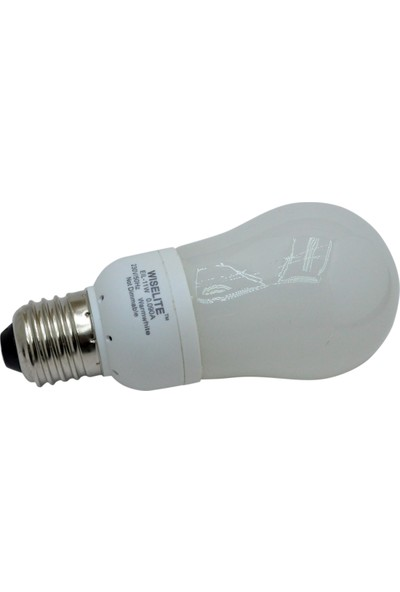Tekfen Wıselıte 11W Eıl Trf-Fosfor Tasarruflu Ampul (Gün Işığı) E27