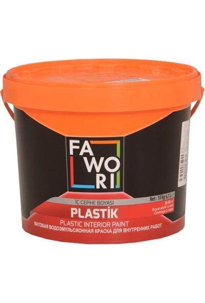 Fawori Plastik İç Cephe Boyası 10 Kg Keten Beji