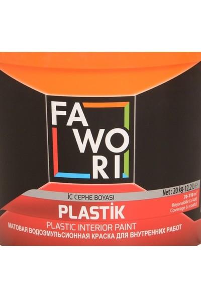 Fawori Plastik İç Cephe Boyası 20 Kg Fıstık
