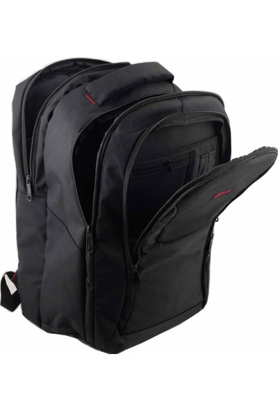 "Dyr Laptop Notebook Sırt Çantası 17"" 18'' Siyah"