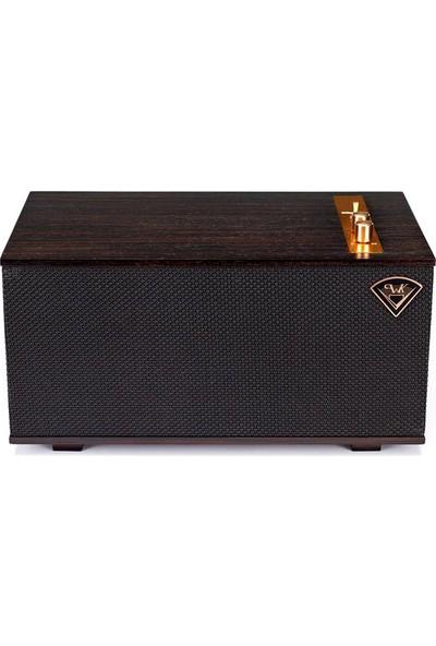 Klipsch The Three Abanoz Masaüstü Bluetooth Stereo Hoparlör