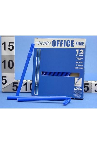 Tratto Tratto Office Fine 0,7 Mm Keçeli Kalem Mavi 730501