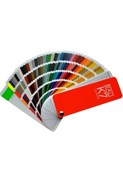 Akzo Nobel Ral Renk Kartelası K7 (213 Renk)