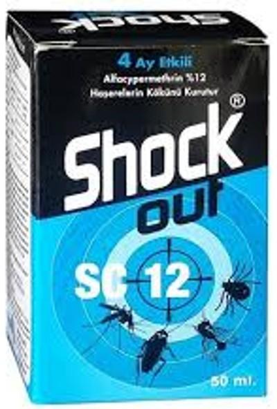 Shock Out Sc .Karasinek, Sivrisinek, Hamamböceği, Karınca, Bit, Pire