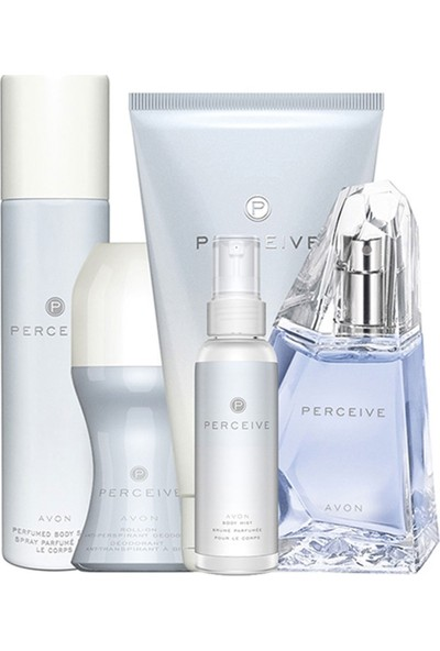Avon Perceive Beşli Kadın Parfüm Set