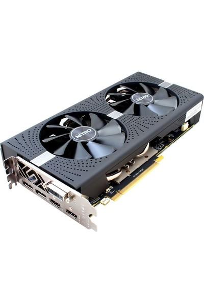 SapphireNitron+Radeon RX 580 4G OC 256Bit GDDR (Dx12) PCI-E 3.0 Ekran Kartı 11265-07-20G