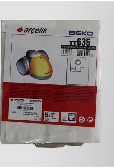Arçelik S6380Y Elektrikli Süpürge Torbası