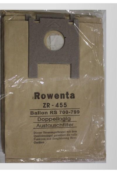 Rowenta ZR 455 Ballon RS 700 Doppellagig Kağıt Süpürge Torbası