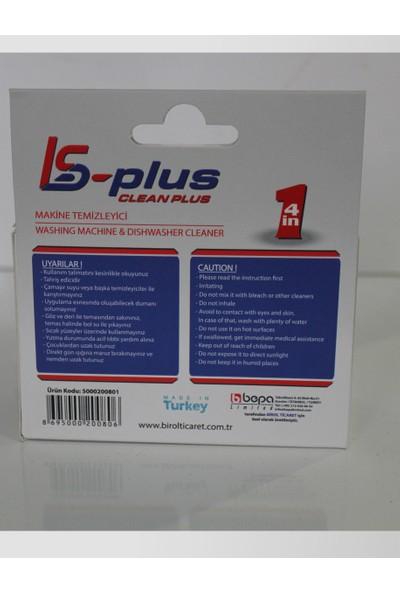 Arçelik Is Plus Clean Bulaşık Makinesı ve Çamaşır Makinesı Temizleyici