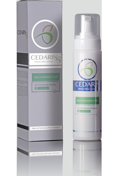 Cedarin Cilt Temizleme Köpüğümıld Cleansıng Foam 225 Ml
