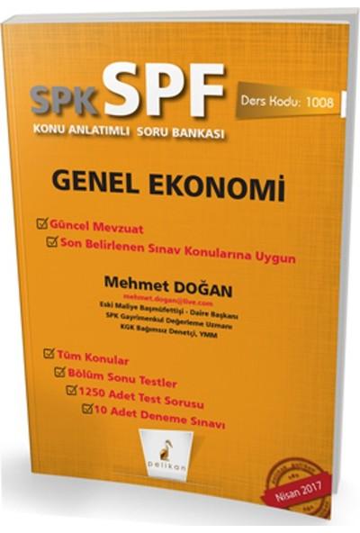 Spk - Spf Genel Ekonomi Konu Anlatımlı Soru Bankası 1008