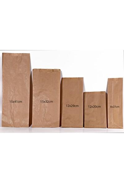 Menteşoğlu Kağıtçılık 12x20cm Kese Kağıt Poşet 255 adet (1kg)