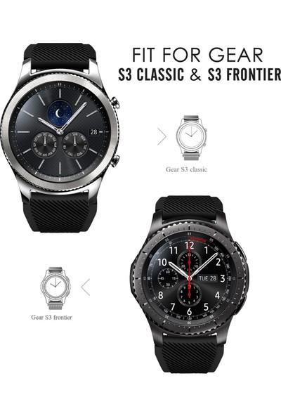 Ally Akıllıphone Samsung Gear S3 Silikon Kayış