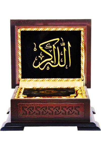 Ahşap Kutulu Hediye Kur'an-ı Kerim (0123)