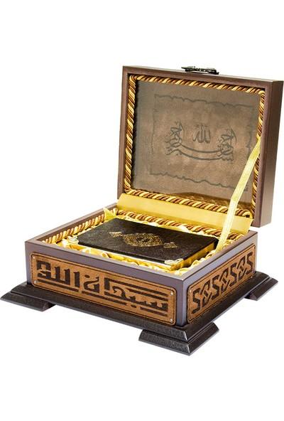 Ahşap Kutulu Hediye Kur'an-ı Kerim (0222)