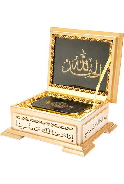 Ahşap Kutulu Hediye Kur'an-ı Kerim (0242)