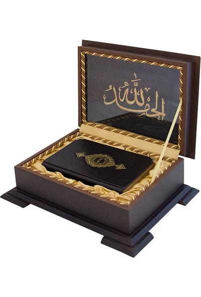 Ahşap Kutulu Hediye Kur'an-ı Kerim (0323)