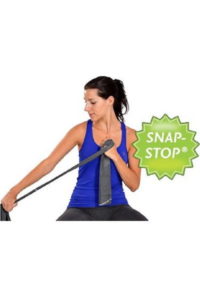 Msd Snap Stop Egzersiz Bandı 1,5 M Siyah